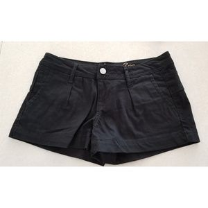 GUC American Rag Black denim shorts size 0